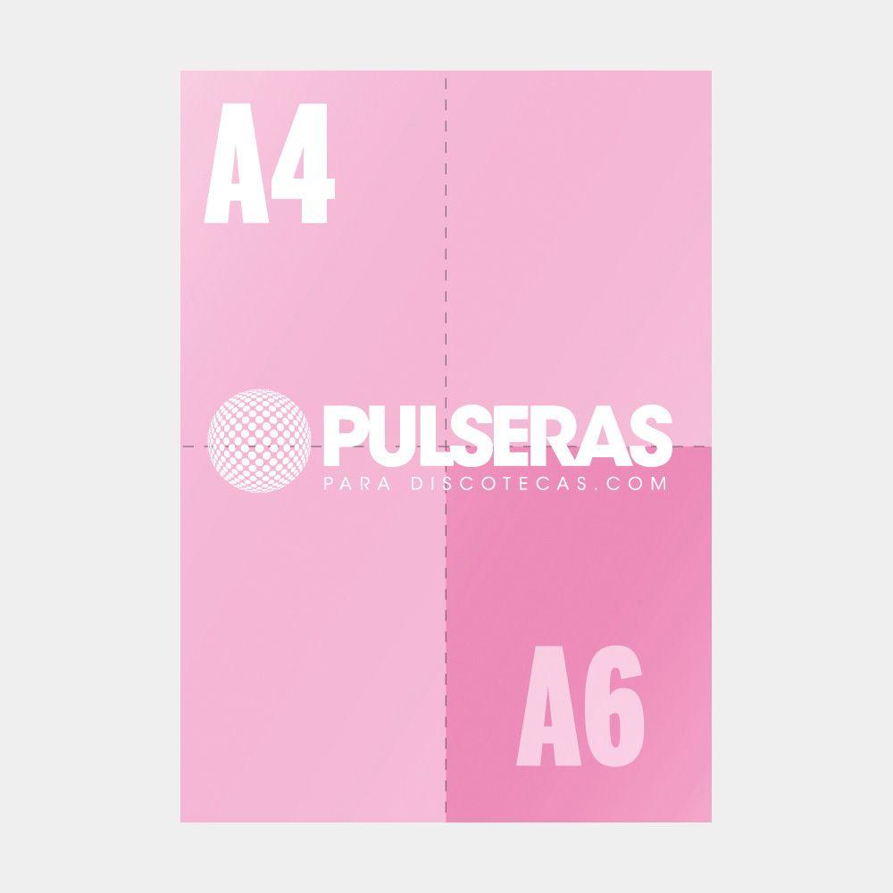 impresión flyers A6