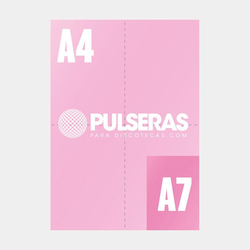 impresión flyers A7