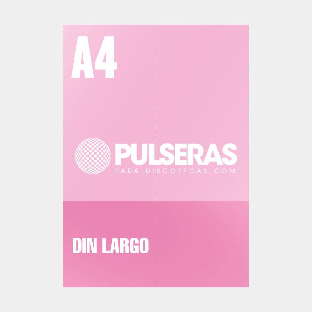 impresión flyers din largo