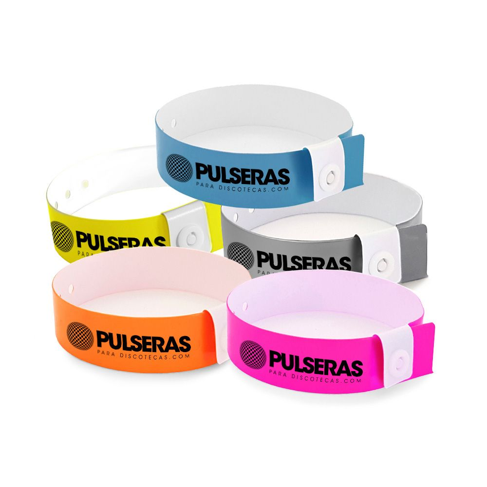 pulseras vinilo personalizadas