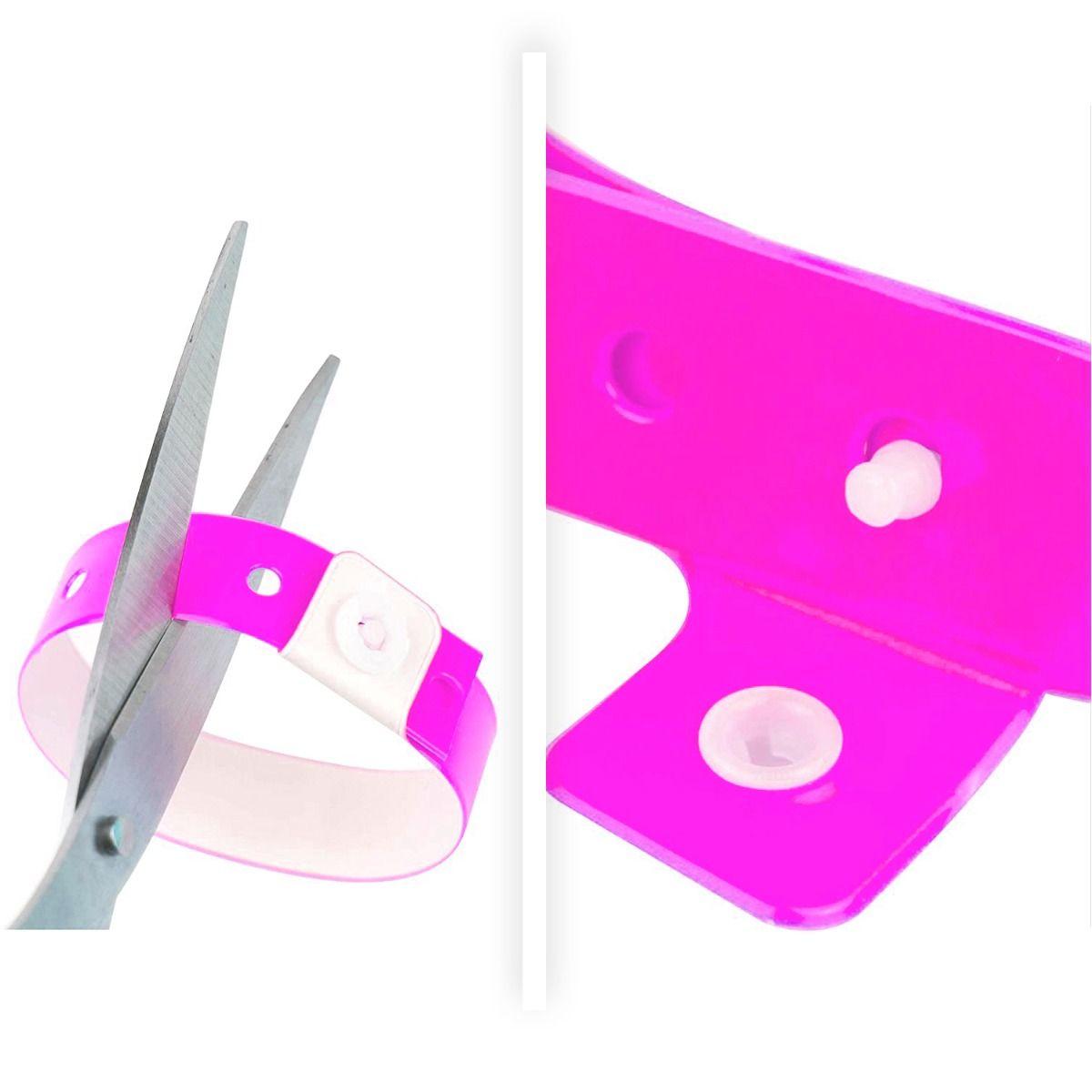 broche de seguridad pulseras de vinilo
