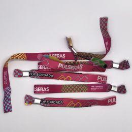 pulseras tela personalizadas