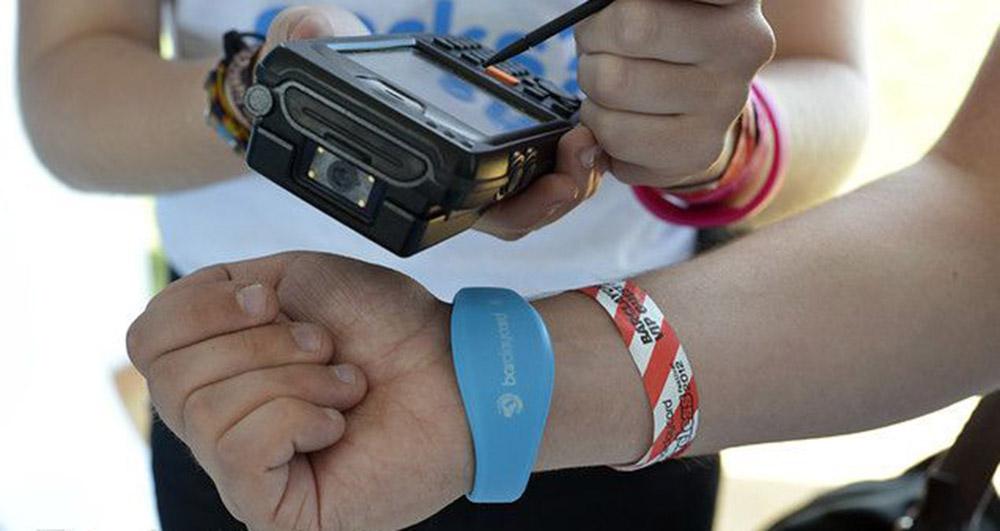 pulseras rfid festivales